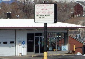 Colorado Car Clinic Front